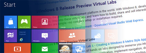 windows 8 virtual lab