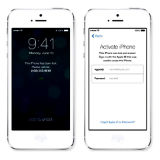 Aktiveringsl�set i IOS 7 har minskat IOS-st�lderna. Foto: Apple.